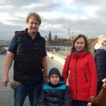 Друг фонда «Два Полушария», Александр Миронов, обеспечил сопровождение Карымова Руслана, прибывшего на лечение в Москву