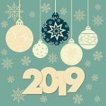 Поздравляем с Рождеством Христовым и Новым 2019 годом!