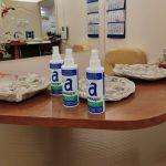 В детский центр «Авита» переданы кожные антисептики для обработки рук сотрудников учреждения и их маленьких посетителей